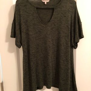 Juicy Couture Army Green T-Shirt